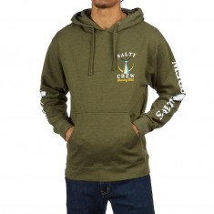 Salty Crew Tailed Hoodie - Army Heather