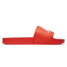 Kappa Authentic Adam 2 Slides - Red/Orange/White