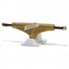 Tensor Mag Light Reg Tens Flick Skateboard Truck - Gold/White