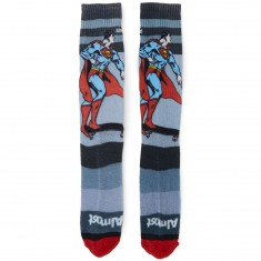 Almost Skateboards Super Mongo Socks - Grey