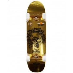 """Dusters Locos Chaz 31"""" Skateboard Cruiser Complete - Gold"""