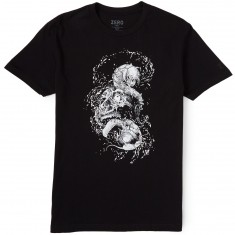 Zero Faces Of Death Premium T-Shirt - Black/White