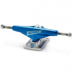 Tensor Alum Lo TENs Flick Skateboard Trucks - Royal/Raw