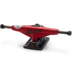 Tensor Mag Light Lo Flick Skateboard Trucks - Red/Black Flick - 5.25