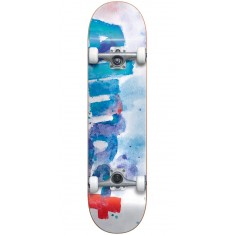 Almost Color Bleed Skateboard Complete - White - 7.75