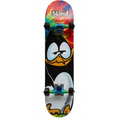 Blind Penguin Tag Youth Skateboard Complete - Tie Dye - 7.0