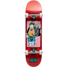 Almost Droopy Boom Box Youth Skateboard Complete - Red/White/Blue - 7