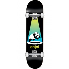 Enjoi Abduction Skateboard Complete - Yellow/Blue - 7.5