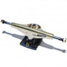 Tensor Alum Lo Mini Flick Skateboard Trucks - Mirror Gold/Black