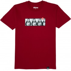 Almost Skateboards Droopy Pop Art T-Shirt - Cardinal Red