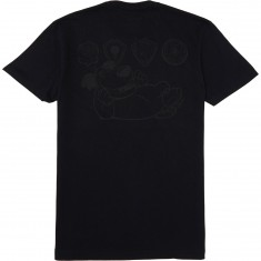 Almost Skateboards Muttley Plaque Premium T-Shirt - Black
