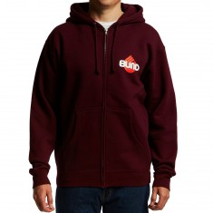 Blind Skateboards Skull Series Hoodie - Maroon