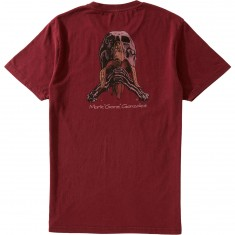 Blind Skateboards Gonz Skull & Banana T-Shirt - Vintage Burgundy