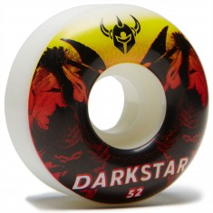 Darkstar Throwback Skateboard Wheels - Orange - 52mm