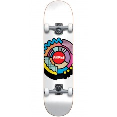 Almost Center Block Youth Skateboard Complete - White - 7.25