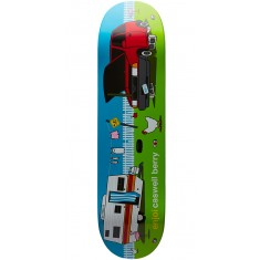 Enjoi Home Sweet Home Pro R7 Skateboard Deck - Caswell Berry - 8.25