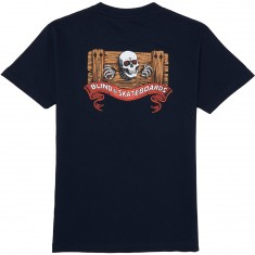 Blind Skateboards Skull Series T-Shirt - Navy