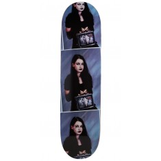 Darkstar Goth Girl Hybrid Skateboard Deck - Black - 8.125