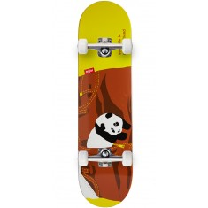 Enjoi Little Friend R7 Skateboard Complete - Brown - 8.0