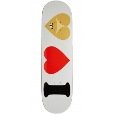 Enjoi I Heart Hearts R7 Skateboard Deck - White - 8.375