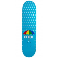 Enjoi Raining Panda Hybrid Skateboard Deck - Light Blue - 7.75