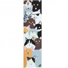 Enjoi Cat Collage Mob Griptape - Multi