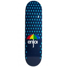 Enjoi Raining Panda Hybrid Skateboard Deck - Dark Blue - 8.0