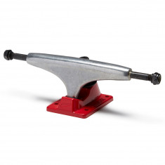 Tensor Alloys Skateboard Trucks - Raw/Red