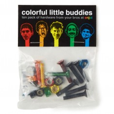 Enjoi Little Buddies Bolts - Multi