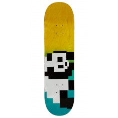 Enjoi 8 Bit Panda R7 Skateboard Deck - Blue/Yellow - 8.375""