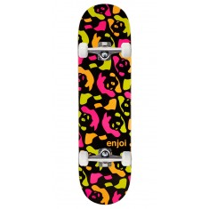 Enjoi Repeater HYB Skateboard Complete - Neon Black - 8.375""
