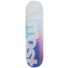 """Almost Side Pipe Blurry HYB Skateboard Deck - Blue - 8.50"""""""