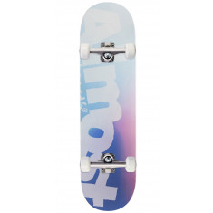 Almost Side Pipe Blurry HYB Skateboard Complete - Blue - 8.50""