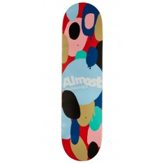 Almost Spotted HYB Skateboard Deck - Red - 8.00""
