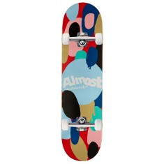 Almost Spotted HYB Skateboard Complete - Red - 8.00""