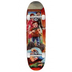 Heritage Accidental Gun Death Slick Skateboard Complete - Guy Mariano - 8.75""