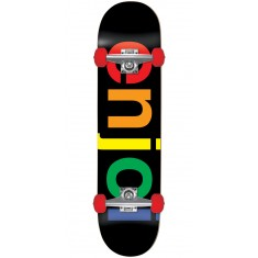 Enjoi Spectrum Resin Skateboard Complete - Black - 7.625""