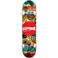 Almost Primal Print Youth Skateboard Complete - 7.00""