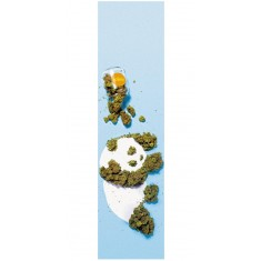 Enjoi Weed Panda Grip Tape - Blue