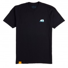 Enjoi Small Panda Logo T-Shirt - Black/Blue