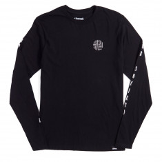 Almost Curb Society Long Sleeve T-Shirt - Black