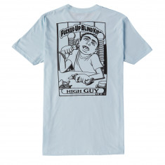 Blind High Guy Outline T-Shirt - Light Blue
