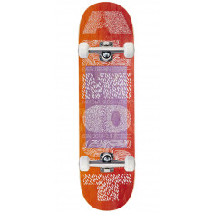 Almost Fat Font R7 Skateboard Complete - Orange/Red - 8.50""