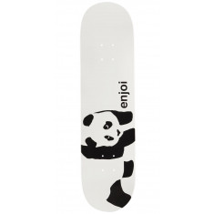 Enjoi Whitey Panda Logo Wide R7 Skateboard Deck - 8.125""