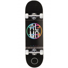 Almost Color Crash HYB Skateboard Complete - Black - 8.375""