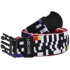 Arcade Glitch Belt - Black/White