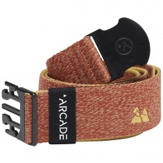 Arcade Packer Belt - Red/Khaki