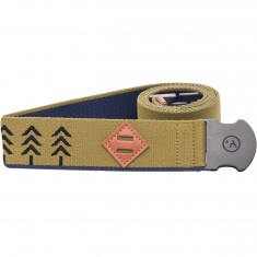 Arcade Blackwood Belt - Navy/Green