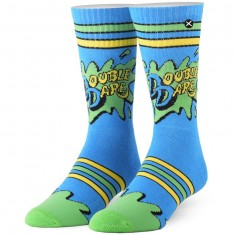 Odd Sox Double Dare Socks - Blue