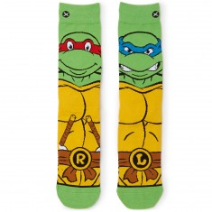 Odd Sox Retro Turtles Socks - Green